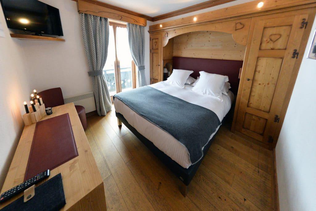 Chambres, Hôtel Bellevue Les Gets